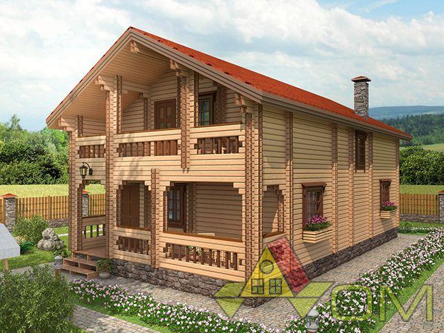 Дома из SIP панелей в Саратовской области